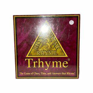 Rare New Thryme 3 Rhyme Vintage Y2K Board Game